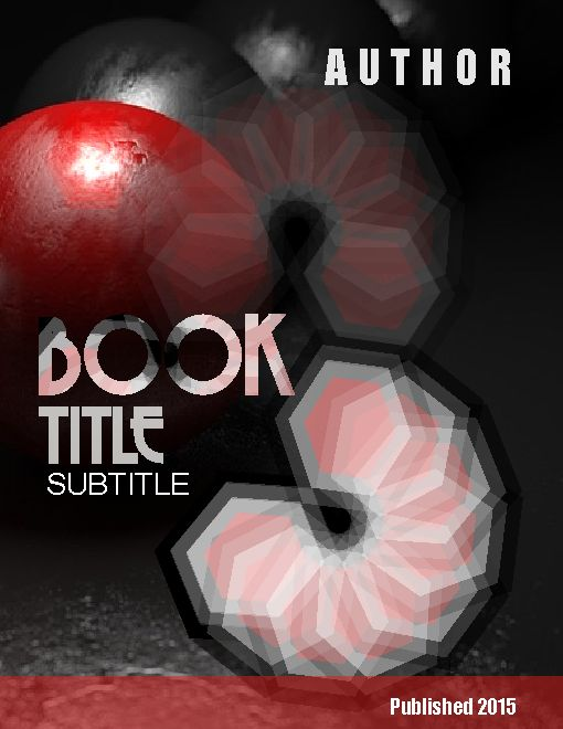 fictional book design
