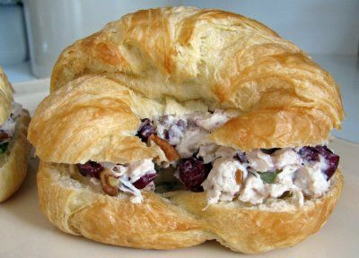 Controlling My Chaos: Fancy Chicken Salad Croissants