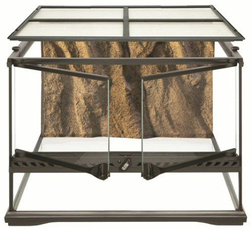 The Exo Terra Glass Terrarium is the ideal reptile or amphibian housing designed by European herpetologists. The front opening doors allow easy access for maintenance and feeding. A specially designed...