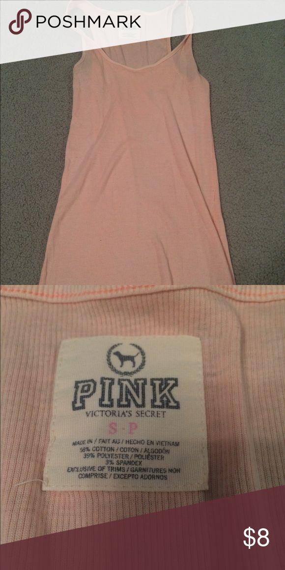 Pink Victoria's Secret PINK tank In good condition. Victoria's Secret Tops Tank Tops