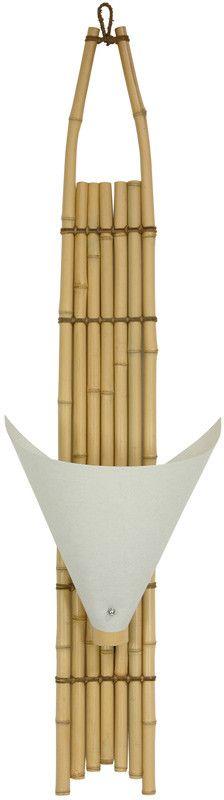 Baku Japanese Bamboo Wall Sconce