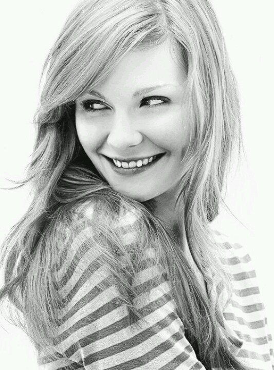Kristen Dunst - what I love most about this is it really captures her personality, too.