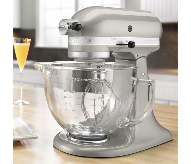 KitchenAid 5-Quart Artisan Design Series Stand Mixer KSM155GB | CHEFScatalog.com