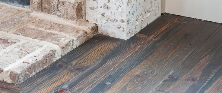 Pre-finished Custom Color Antique Heart Pine #pineflooring: Colors Antiques, Antiques Wood, Heart Pine, Antiques Heart, Houses Ideas, Planks Floors, Custom Colors, Houses Plans, Reclaimed Heart