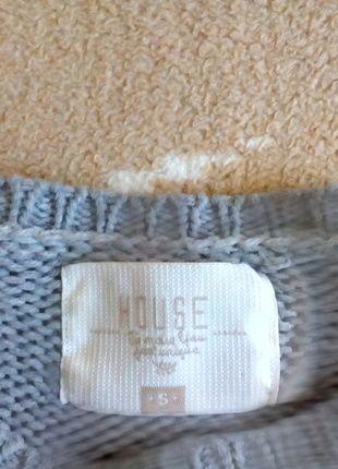 Kup mój przedmiot na #vintedpl http://www.vinted.pl/damska-odziez/swetry-z-dzianiny/12252603-szary-sweterek-z-latami-house