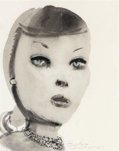 Barbie by Marlene Dumas