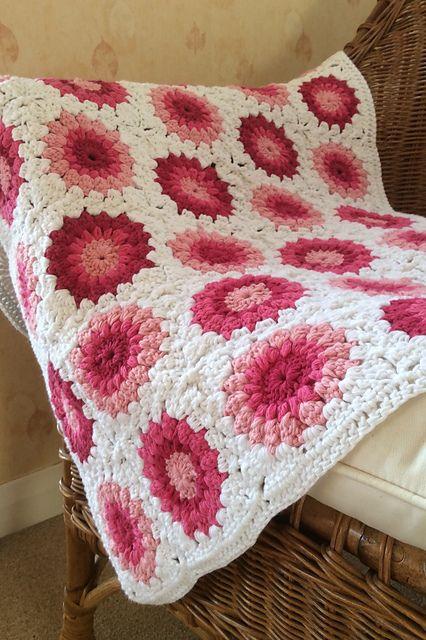Ravelry: dawnsmith16's Sunburst Blanket                                                                                                                                                                                 More