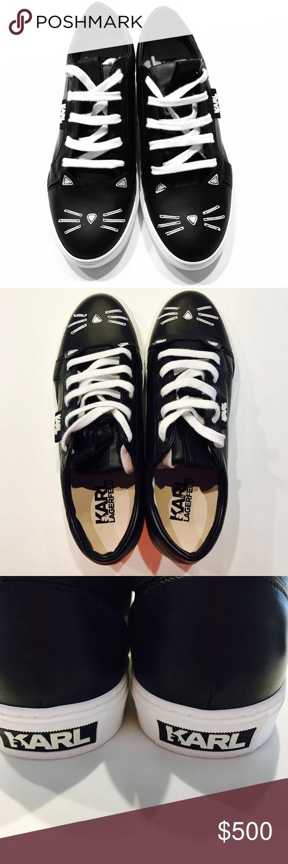 Karl Lagerfeld Choupette sneakers Brand new unworn Karl Lagerfeld F/W16 Choupette sneakers. Comes with original dust bag.  Size is EU41 Karl Lagerfeld Shoes Sneakers