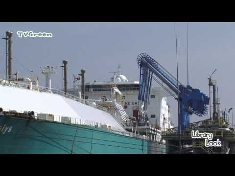 TimeLapse: Gate - LNG Terminal... Bunkering tanker Gaselys - YouTube