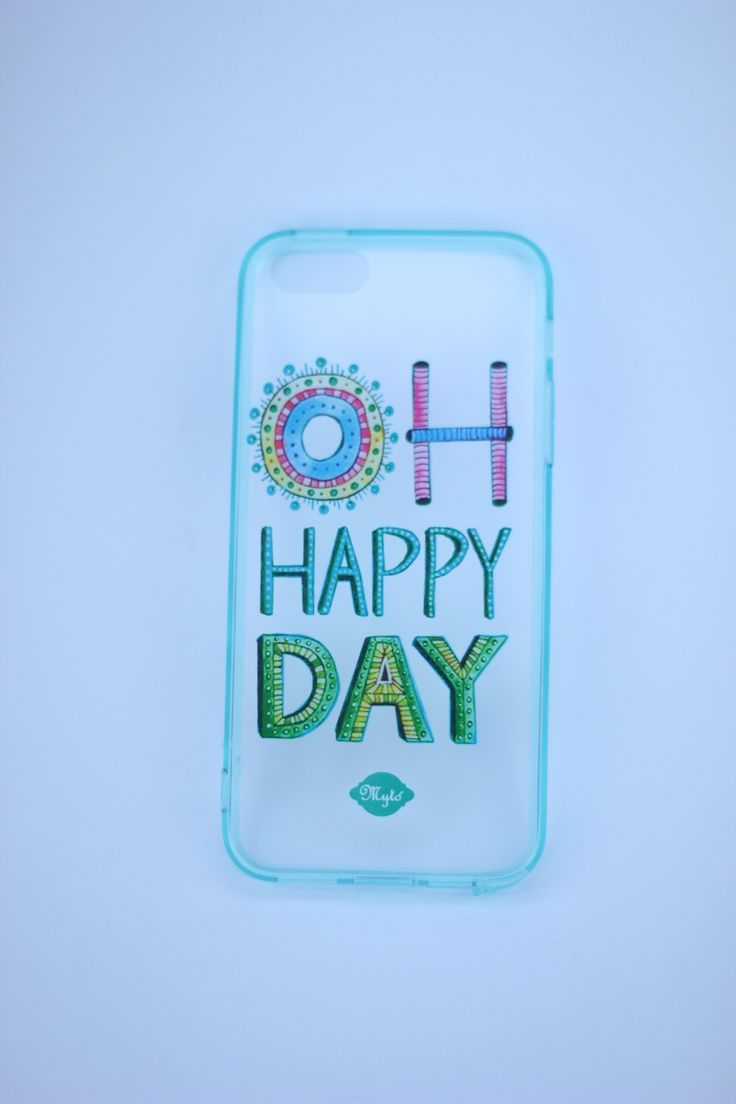 Oh happy day!  Custom phone case by Mytó. Www.mytodesign.com Worldwide shipping myto@mytodesign.com