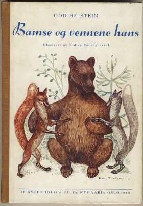 """""""Bamse og vennene hans"""" av Odd Heistein"""