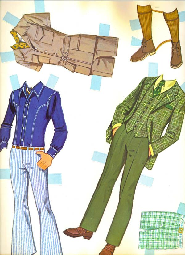 1970s Ken & Barbie Paper Dolls (had this)