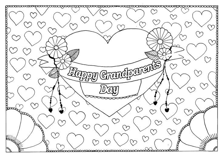 Free Printable Grandparents Day Coloring Pages In 2020 Birthday Coloring Pages Mothers Day Coloring Pages Mothers Day Coloring Cards