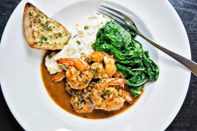 Black Market Bistro's New Orleans-style barbeque shrimp | © Scott Suchman