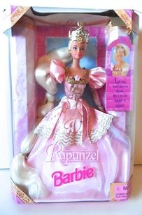 Rapunzel Barbie | 18 Barbie Dolls From The '80s And '90s That Are Worth A Fortune Now. No way! I had this one! (definitely wouldn't have been worth that much, as she was out of the box and somewhat ruined...)