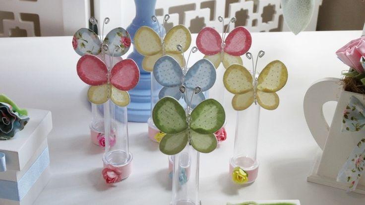 tubete decorado com flores - Pesquisa Google