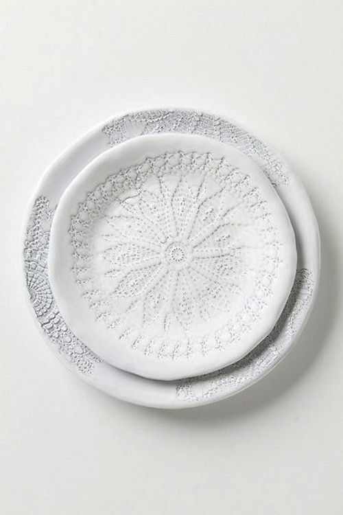 Nordic Feeling lace plates