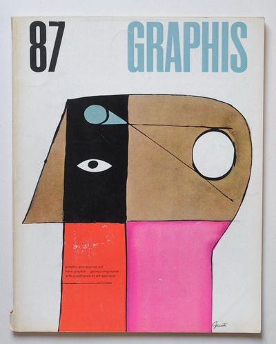 Graphis Magazine cover by George Giusti