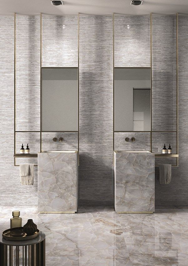 About Experimenting With Base Materials And Large Formats Washroom Design Toilet And Bathroom Design Restroom Design