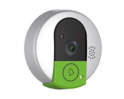 Smays Ring Video Doorbell Intercom for Home Security (Motion Detection, WIFI, IR Night Vision, Fit Android iOS Windows Platform)