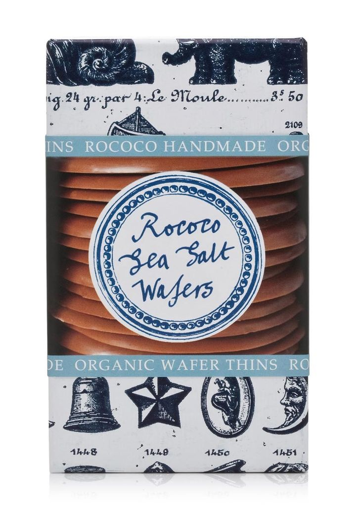 One of the secrets of these wafers is the Halen Mon Anglesey sea salt, which brings out a slight fruity and flowery edge to the chocolate. Reminscent of licking an ice cream on a beach! Who knew sea salt could complement confectionery so well?�9.67 per 100.00g