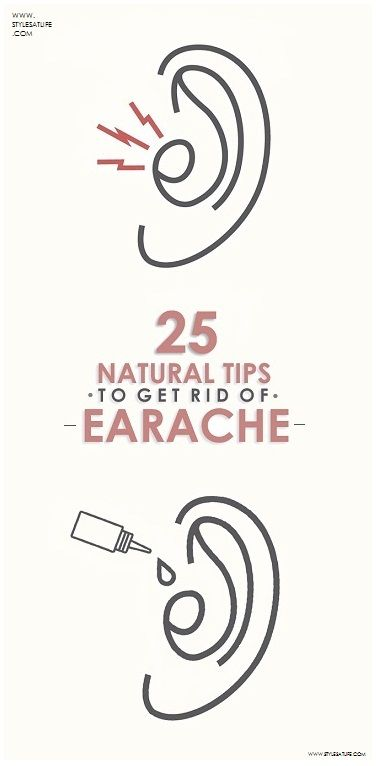 25 Best Natural Home Remedies For Earache.