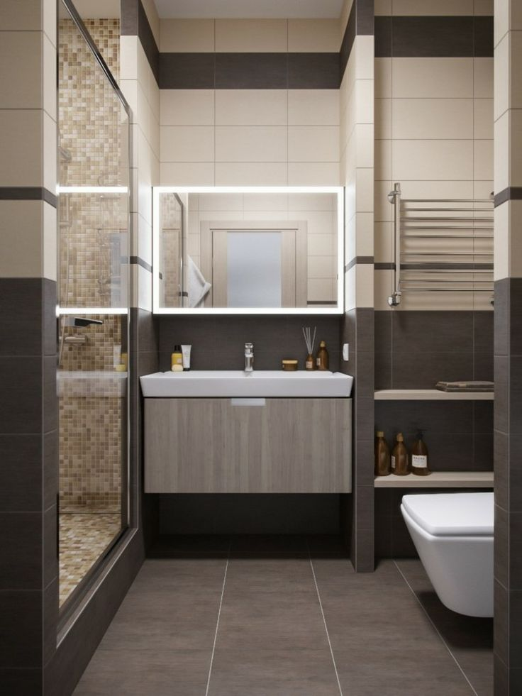 15 best sdb images on Pinterest | Small bathroom designs ...