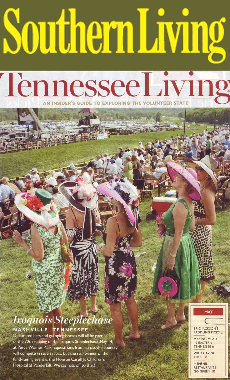 Iroquois Steeplechase #Nashville  featured in Southern Living