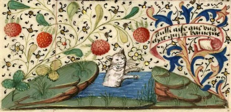 Image result for medieval manuscript lake