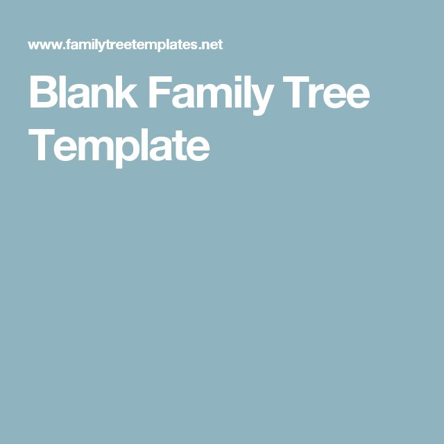 Best 25+ Blank family tree template ideas on Pinterest Blank - family tree template in word