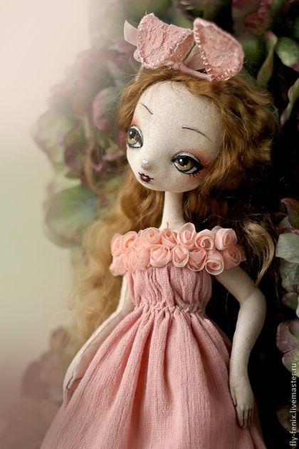 Коллекционные куклы ручной работы. Ярмарка Мастеров - ручная работа Моя зайка. Handmade.