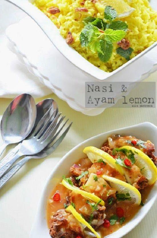 Nasi Lemon & Ayam Lemon