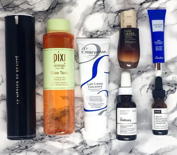 UPDATED SKINCARE ROUTINE . I thought I would do a little update on some new products in my skincare routine that Ive been testing . You all know I love the @lemetierdebeauteuk Replenishing Oil Cleanser it makes a great first cleanse as its oil based but I also use it on days where I dont double cleanse and this is enough. . Acid Tone - @pixibeauty Glow Tonic: I use this every night after cleansing I have to admit that I have grown to love Glycolic Acid its fantastic for a number of things…