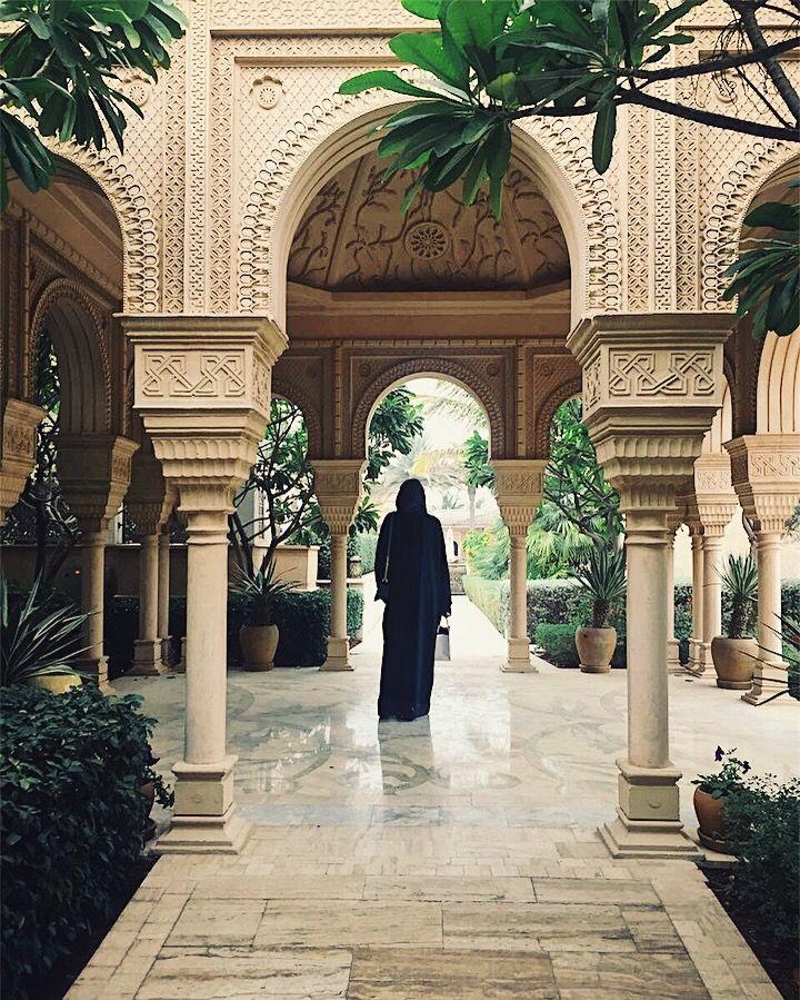 At the One & Only Royal Mirage Dubai, UAE #evishaindubai