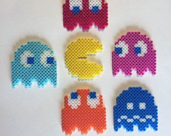 Relive the Red, Blue and Yellow days with the Pokemon sprites! Choose just one sprite or get the whole set!  For more sprites, check out https://www.etsy.com/shop/BelovedDollDesigns?section_id=13671367