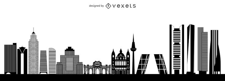 "<a target=""_blank"" href=""https://www.vexels.com/vectors/preview/137541/madrid-skyline-silhouette""> Madrid skyline silhouette </a> 