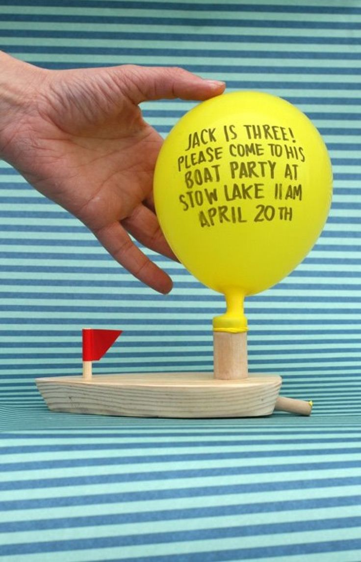 fabulous birthday party invitation idea