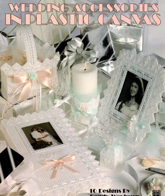 Wedding Accessories in Plastic Canvas Pattern Book by AllMyStyles