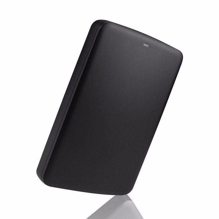Nieuwe real 500 gb basics usb 3.0 draagbare externe flash opslag hard drive voor toshiba hoge kwaliteit hdd spelers professionele gift