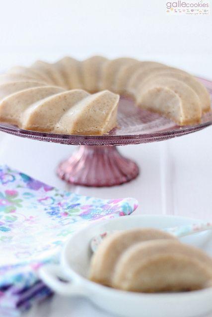 Flan de galletas al microondas