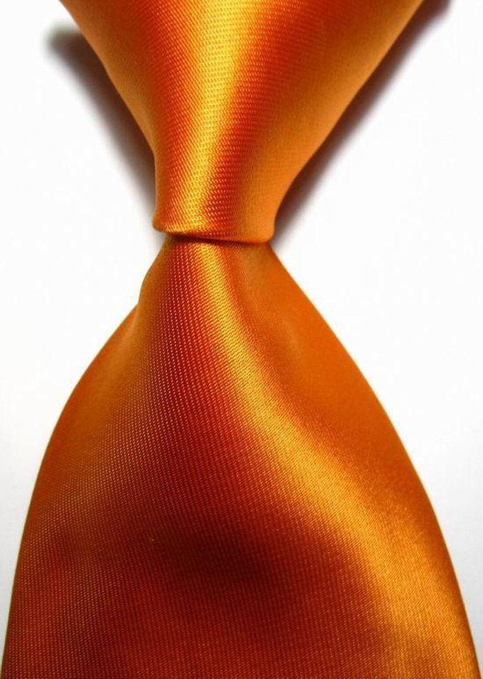 Snt0416 Orange luxe Mens jeu de nœud papillon cravates 2016 uni + Hanky mouchoir boutons de manchette cravates hommes d'affaires décontractée cravate dans Ties & Handkerchiefs de Accessoires et vêtements pour hommes sur AliExpress.com | Alibaba Group