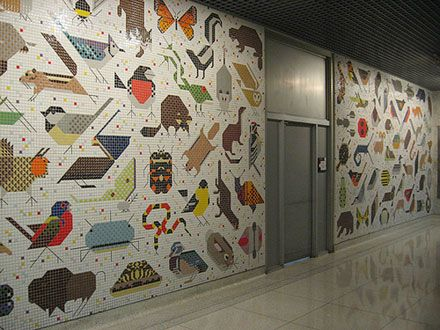 1000 images about charley harper art on pinterest for Cincinnatus mural