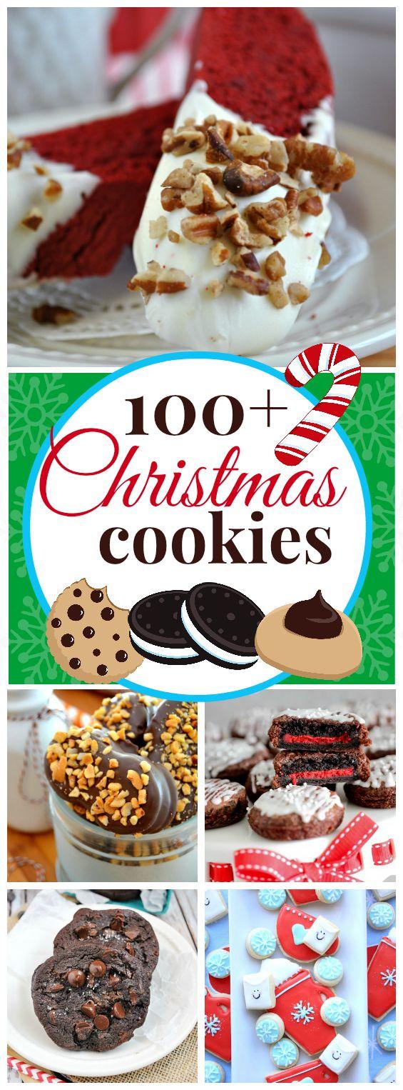 100+  #Christmas #Cookies | www.somethingswanky.com