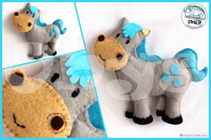 felt pony