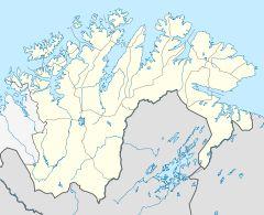 Norway Finnmark location map.svg