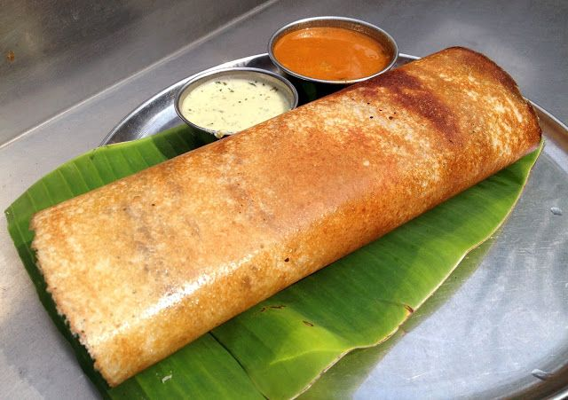 Thosai, Dosa or Dosai is a crepe made from rice and black lentils. It is a popular dish in Singapore, eaten for breakfast or dinner, and i...
