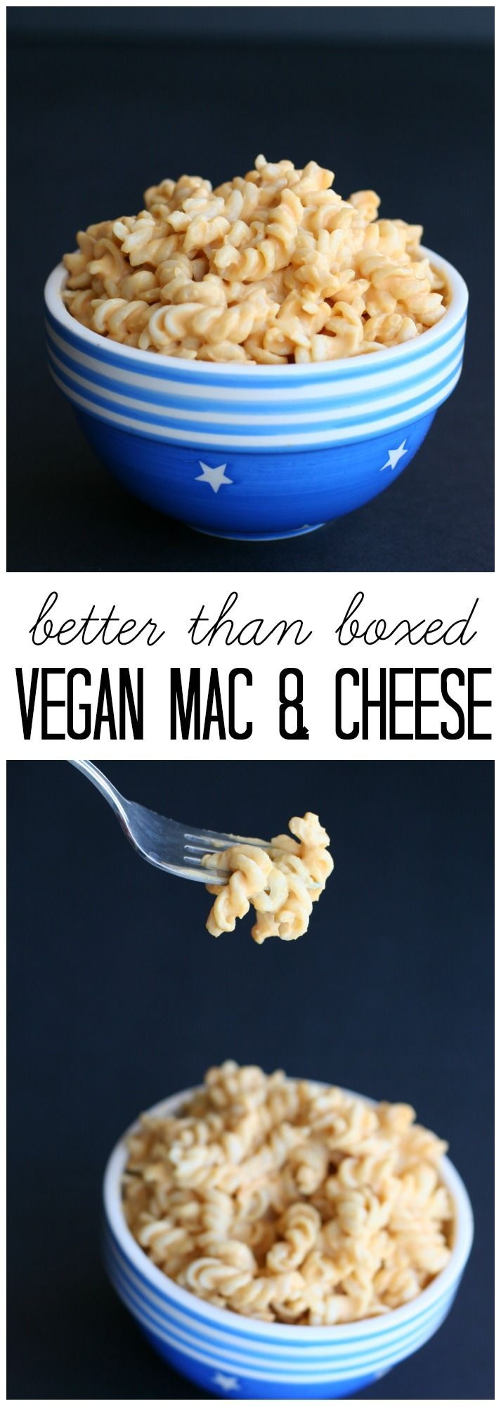 Better-than-Boxed Vegan Mac & Cheese from LauraFuentes.com
