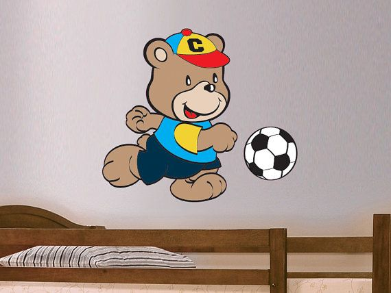 48 best football wall stickers decals soccer to our for Sports decals for kids rooms