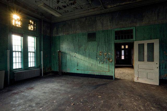 Le complexe H.H. Richardson (anciennement asile de fous de Buffalo), Buffalo, New York (1881-1995)