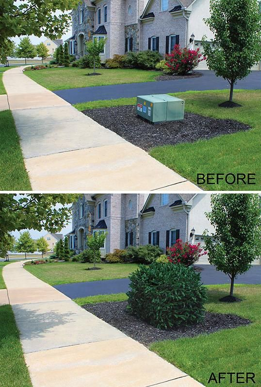 Landscaping Ideas To Hide Pool Equipment cst paver patio swimming pool deck like the stones inside landscaping and Evergreen Bush Faux Shrub Cover Hides Unattractive Utility Equipment In A Yard Landscaping Designyard Landscapingpool